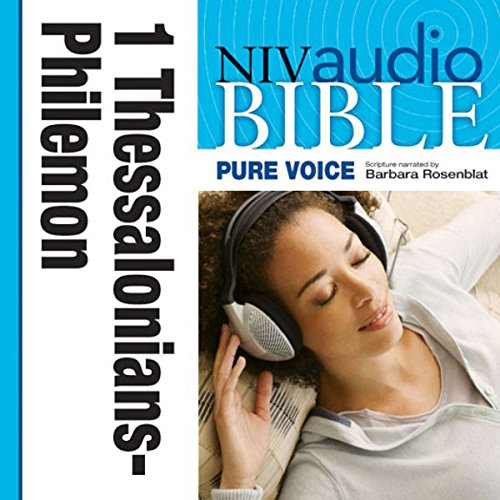 Pure Voice Audio Bible - New International Version, NIV (Narrated by Barbara Rosenblat): (09) 1 and 2 Thessalonians, 1 and 2 Timothy, Titus, and Philemon audiobook cover art