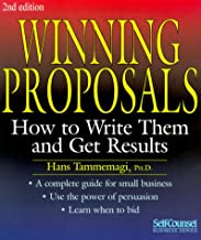 Winning proposals how to write them and get results network security term paper