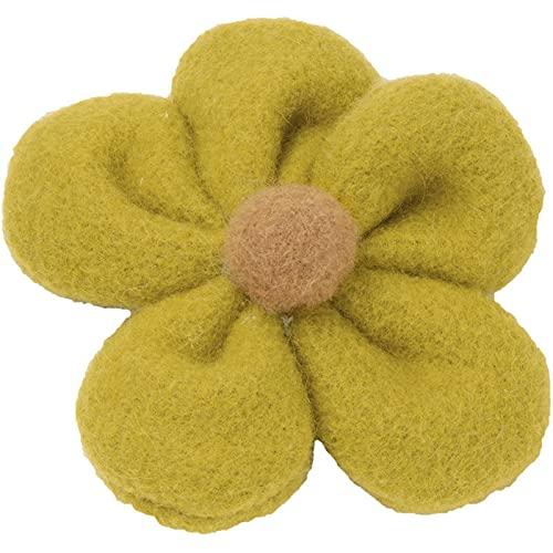 QIN Accesorios para el Cabello, Bandas de Goma para Mujer, Forma de Flor, Bandas elásticas Dulces para el Cabello para niñas, Sombreros para Mujer, Cola de Caballo
