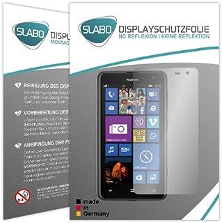 "2 x Slabo displayskyddsfolie Nokia Lumia 625 skärmskydd skyddsfolie ""No Reflexion|No Reflektion"" MATT – reflekterat made i..."