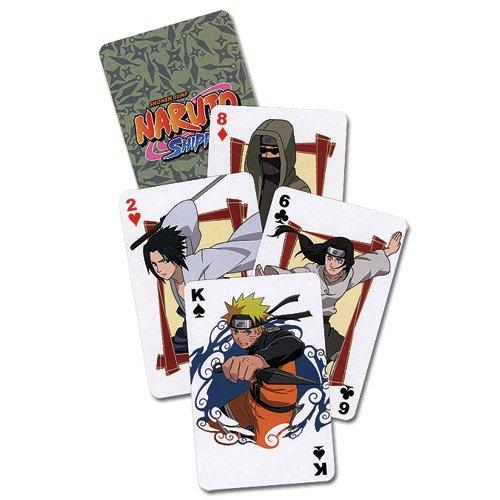 Naruto Shippuden 52 x Playing Cards Pokercards Original & Licensed avec LIVRAISON GRATUITE