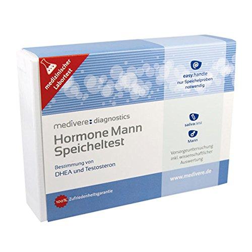 HORMONE Mann Speicheltest 1 St