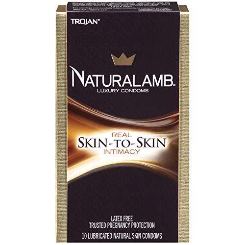 Trojan Natural Lamb Lubricated Condoms (30 Condoms)