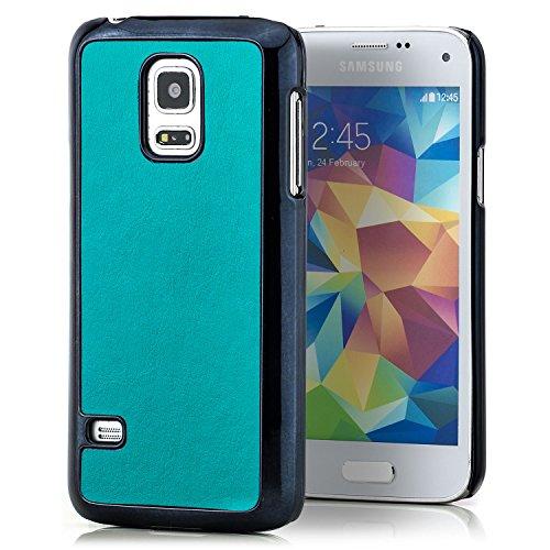 Preisvergleich Produktbild Saxonia Samsung Galaxy S5 Mini Hülle Schutzhülle Case Slim Cover Rück Schale,  Türkis