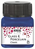 Kreul 16213 - Glass & Porcelain Classic, brillante Glas- und Porzellanmalfarbe auf Wasserbasis,...