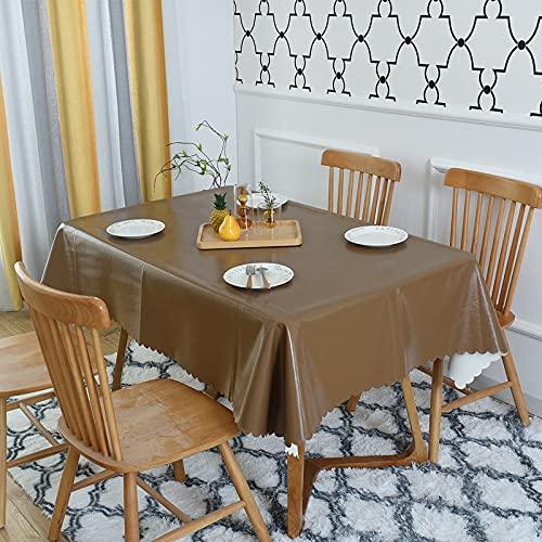 sans_marque Paño de mesa, puede limpiar el mantel de mesa, limpiar la cubierta protectora impermeable de la mesa, se utiliza para la cocina picnic al aire libre interior de 120 x 180 cm de encaje
