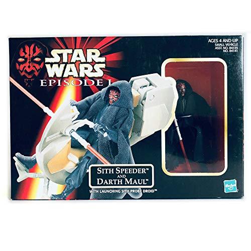Star Wars Episode 1 Actionfigur: Darth Maul mit Sith Speeder