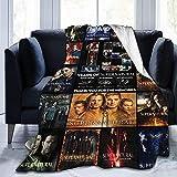 Manta supernatural suave y ligera, adecuada para sofá, cama, oficina, transpirable y cálida para aire acondicionado (S2, 135 x 200 cm)
