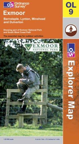 OS Explorer map OL9 : Exmoor