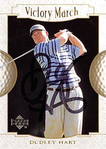 Dudley Hart autographed golf card (PGA, Florida Gators) 2001 Upper Deck Victory March #155 - Autographed Golf Equipment
