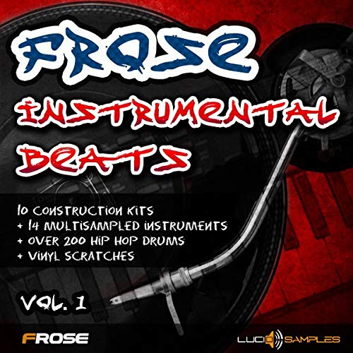 Frose Instrumental Beats Vol.1 - 10 instrumental hip hop beats | AIFF + GIG Files | DVD non Box