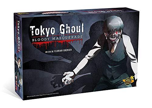 Don't Panic Games- Tokyo Ghoul : Bloody Masquerade Jeu de Plateau, DPG1004, 0
