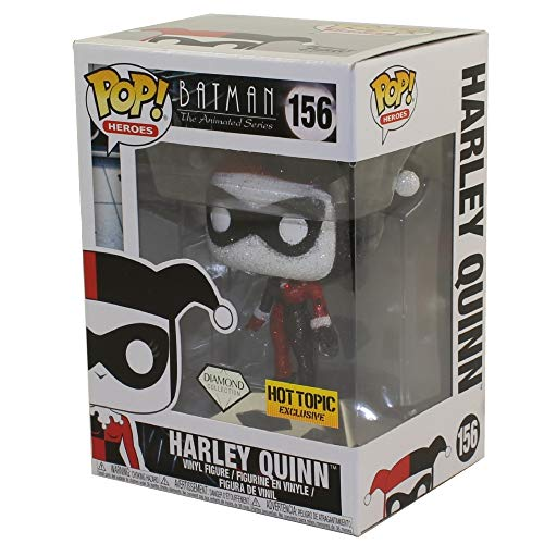 FunKo Coleccion Harley Quinn Diamond Pop! Tema caliente exclusivo Batman The Animated Series