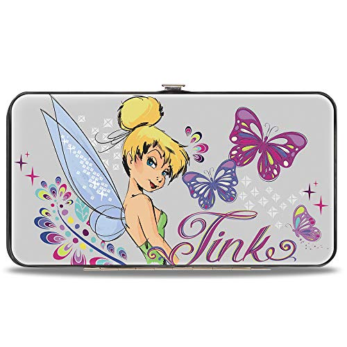 Buckle-Down Women's Hinge Wallet-Tinker Bell, 7