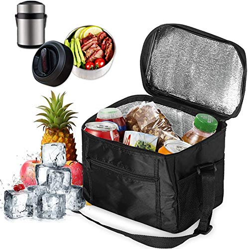 MEISHANG Kühltasche Mini Faltbar,Kühltasche Klein mit Kühlakku,Thermotasche Faltbar Klein,Isoliertasche Kühltasche,Lunchtasche Kühltasche Klein,Picknicktasche Kühltasche