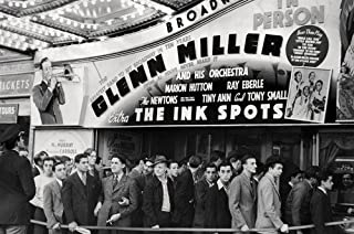 The Ink Spots Glenn Miller & His Orchestra at Broadway theater 24x36 Poster