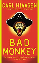 book cover of Bad Monkey - books set in Florida Keys