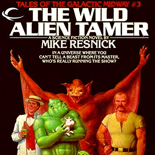The Wild Alien Tamer audiobook cover art