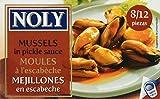 Noly - Mejillones En Escabeche 112 g - [Pack de 5]