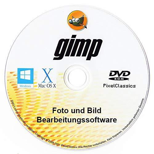 GIMP Photoshop CC CS6 CS5 Kompatible Foto Bildbearbeitung Premiere Pro Editor für PC Windows 11 10 8 8.1 7 Vista XP, Mac OS X und Linux