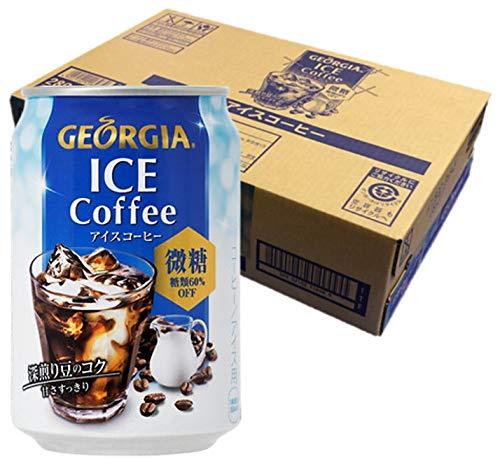 ジョージア アイスコーヒー微糖 280g×24本 缶