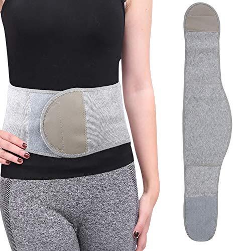 Zer one Warm Taille Unterstützung, Therapie Gestrickte Bauch Binder Nierenwärmer Magen Lendenwirbelsäule Unterstützt Klammer(XL)