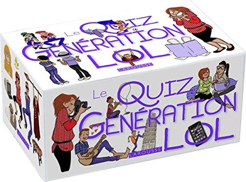 Le Quiz Génération LOL (Boîtes Quiz)