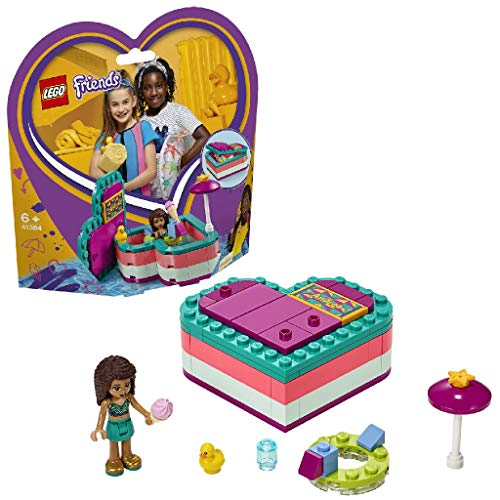 LEGO Friends 41384 - Andreas sommerliche Herzbox, Bauset