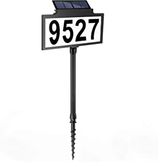 Lighted Address Sign