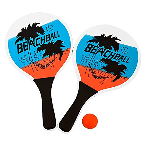 Raqueta de tenis de playa para parque o jardín, de madera
