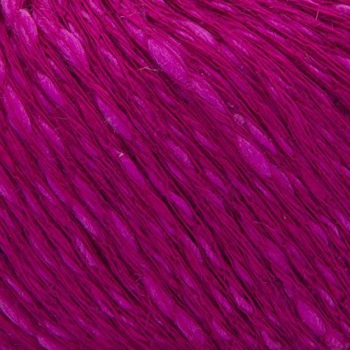 ggh Manila - 006 - Cyclamus - Algodón con lino para tejer y hacer ganchillo