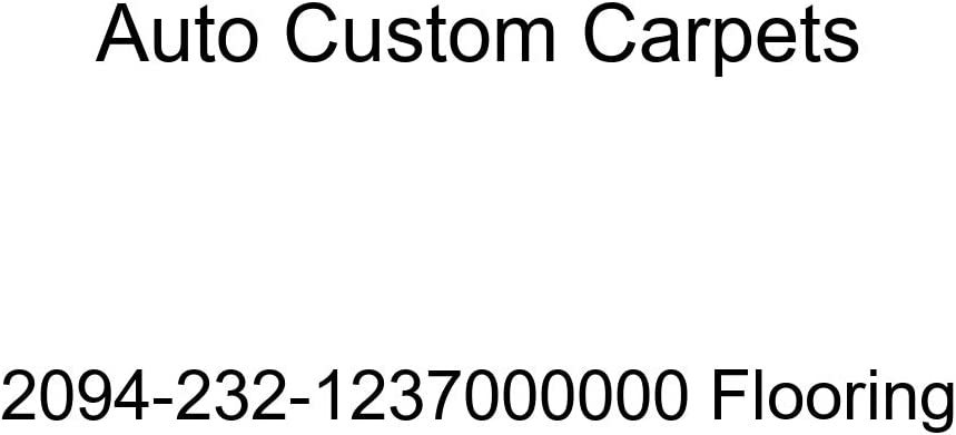 Auto Custom Carpets Super special price Flooring 2094-232-1237000000 Product