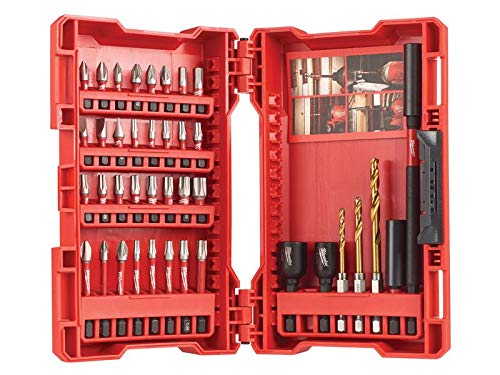 Milwaukee Power Tools Milwaukee 4932472059 Shockwave Impact Duty Bit Set, 39 Piece
