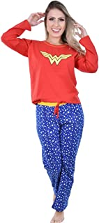 Pijama Longo Mulher Maravilha