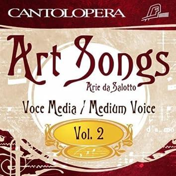 Cantolopera: Art Songs Vol. 2 For Medium Voice