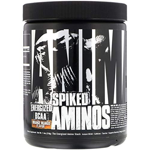 Universal Nutrition Animal Spiked Aminos BCAA Caffein 210 g (Orange Mango)