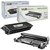 LD Compatible Toner Cartridge & Drum Unit Replacements for Brother TN650 High Yield & DR620 (1 Toner, 1 Drum, 2-Pack)