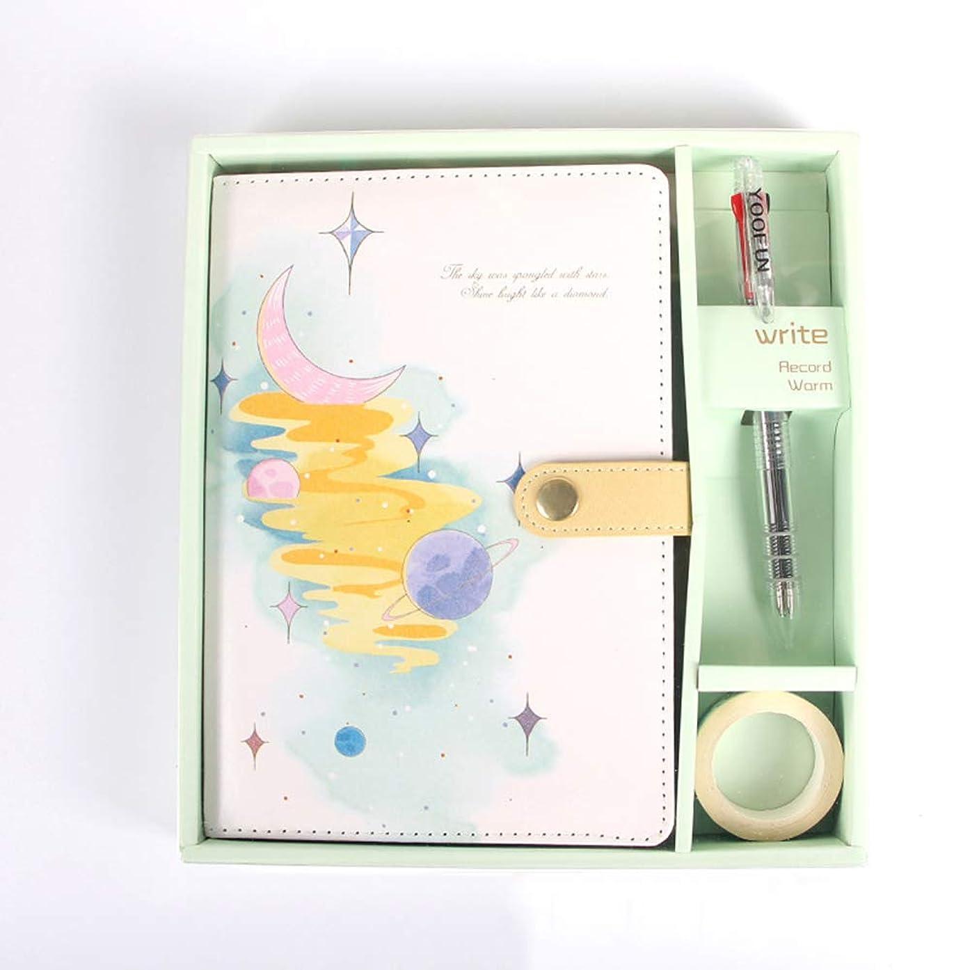 マンハッタン通行料金飾り羽ノート,クリエイティブな文学ノート、学生用ハンドブックギフトセット、贈り物として適して