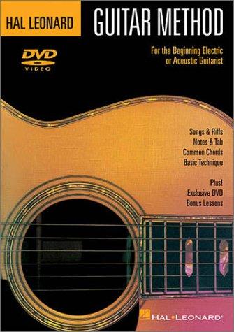 Hal Leonard Guitar Method - DVD: For the Beginning Electric or Acoustic Guitarist