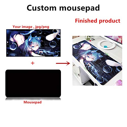 NBPRO Extra Große Gaming Mouse Pad Anime Gamer Computer Mousepad Anti-Slip Natürliche Gummi Gaming Maus Matte XL XXL 900x400mm Tokyo Ghoul-1