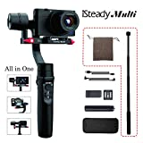 Hohem iSteady Multi 3-Axis 3-in-One Handheld Gimbal Stabilizer for Sony RX100 Series,...