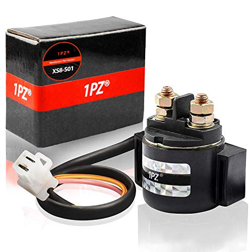1PZ XS8-S01 Starter Solenoid Relay for Yamaha Virago 500 XV500 Virago 535 XV535 Virago 750 XV750 Virago 920 XV920 Vision 550 XZ550R
