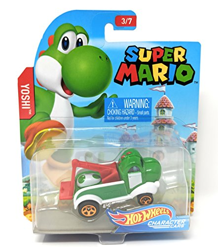 Hot Wheels - Super Mario Character Cars - Yoshi