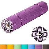 KeenFlex - Tappetino Yoga Pilates Fitness - Premium anti scivolo e confortevole - Extra Lungo 183 cm...