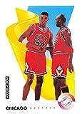 1991-92 SkyBox Basketball #462 Michael Jordan/Scottie Pippen Chicago Bulls TW Official NBA Trading Card