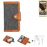 K-S-Trade Handy-Hülle + Kopfhörer Für Allview P8 Pro