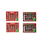 Candy Cane Peppermint Flavored Spoons, Chocolate Stirring Spoons, Hot Chocolate Party, Chocolate Spoons For Kids