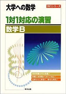 1対1対応の演習/数学B―大学への数学 (1対1シリーズ)