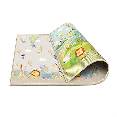 1cm épaisseur Bébé Tapis Tapis De Jeu Mousse Mousse Puzzle Tapis Enfant Toddler Crawl Infant Couverture 200  180cm 200CM  180CM