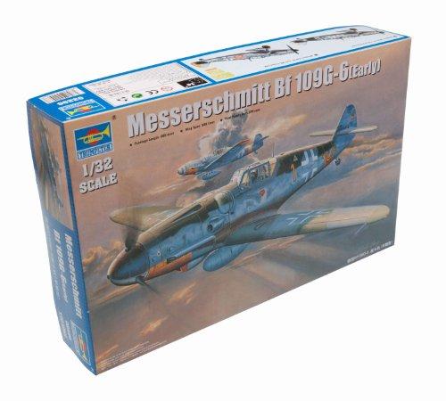 Trumpeter 02296 Modellbausatz Messerschmitt Bf 109G-6 (Early)